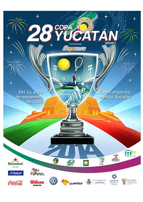 poster copa yucatan 2014